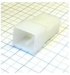 Obal kolíka 6,3mm 2-cestný - silon
