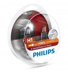 PHILIPS X-TREME VISION G-FORCE 10G H1 +130% 12V 55 2KS/BALENIE