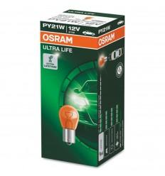 OSRAM 7507ULT-02B 12V PY21W BAU15S ULTRA LIFE - 1ks