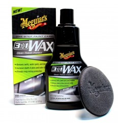 Meguiar's 3-in-1 Wax - leštenka s voskom 3 v 1, 473 ml