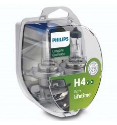 Philips LongLife EcoVision H4 12V 60/55W 2ks/balenie