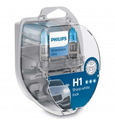 PHILIPS WHITEVISION ULTRA +60% H1 2KS/BALENIE + 2KS W5W