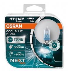 OSRAM H11 COOL BLUE INTENSE NEXTGEN +100% 2KS/BALENIE