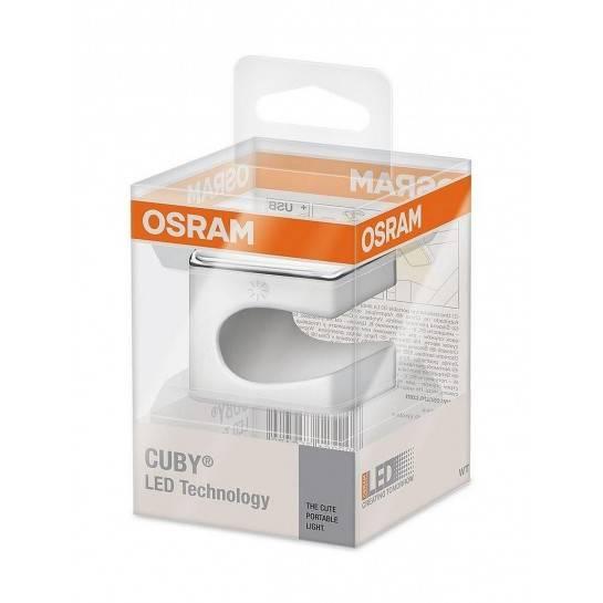 Osram LED svietidlo biele LOOX CUBY LED torch