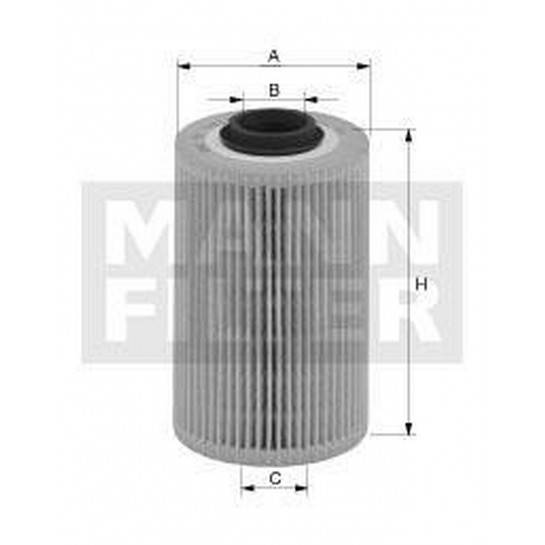 filter olejový mann HU 921x