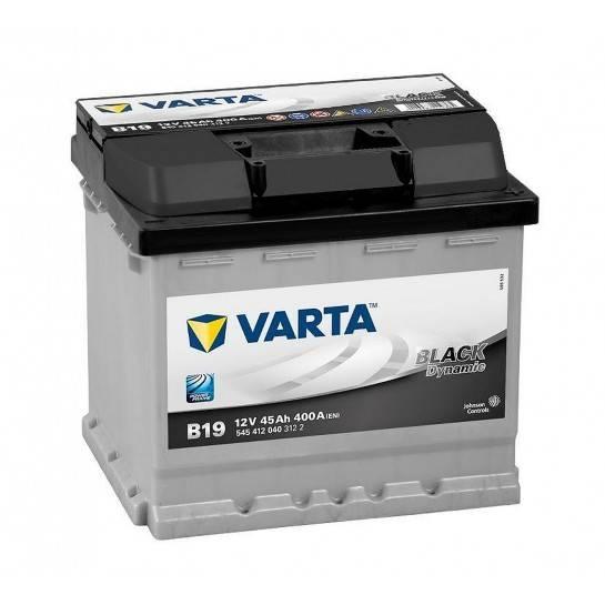 VARTA BLACK Dynamic 12V 45Ah 400A