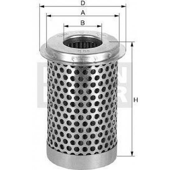 filter olejový mann H 65