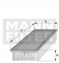 filter vzduchový mann C 3459