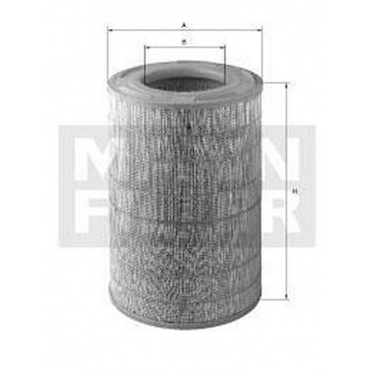 filter vzduchový mann C 25754 C 25003