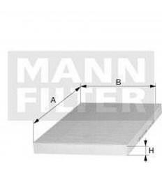 filter peľový mann CU 3649