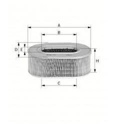 filter vzduchový mann C 1460