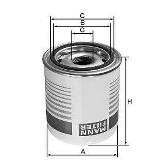 filter vysušovač mann TB 1374x