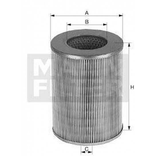 filter vzduchový mann C 15163