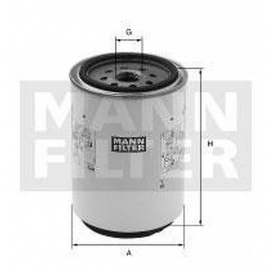 filter paliva mann WK 1060/3x