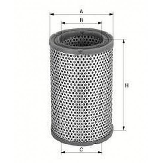 filter vzduchový mann C 1450