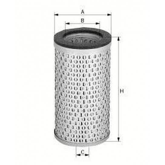 filter vzduchový mann C 718