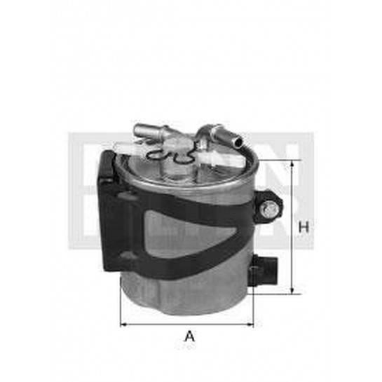 filter paliva mann WK 9007