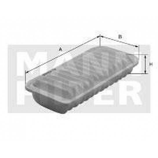 filter vzduchový mann C 2610