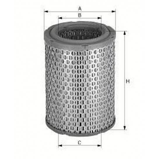 filter vzduchový mann C 1245