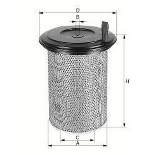filter vzduchový mann C 24650/3