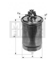 filter paliva mann WK 842/4