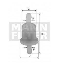 filter paliva mann WK 21