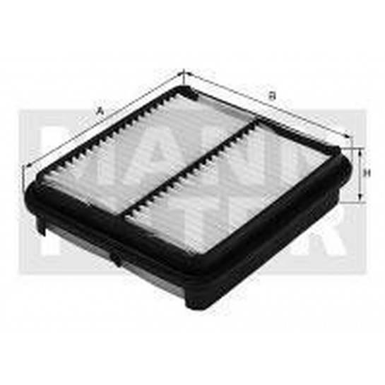 filter vzduchový mann C 2612 C 2610
