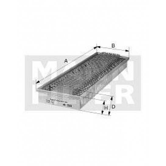 filter vzduchový mann C 60345