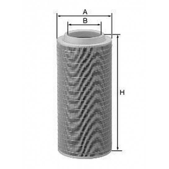 filter vzduchový mann C 25660/2 C 25660/1