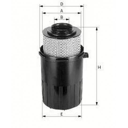 filter vzduchový mann C 15200