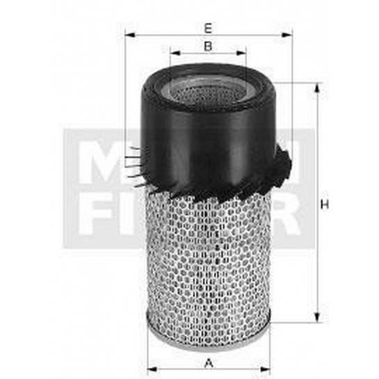 filter vzduchový mann C 16190x