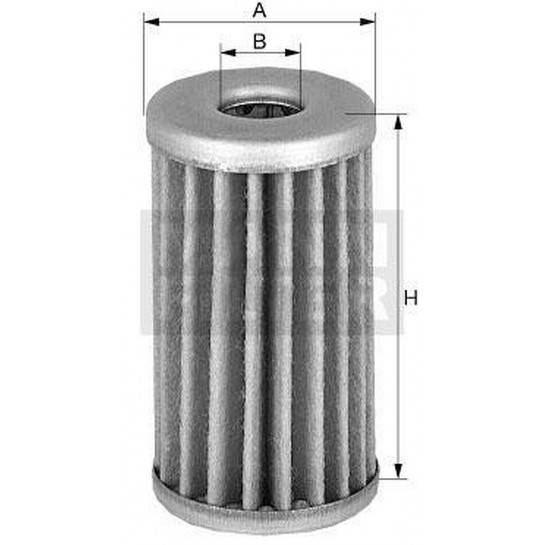 filter olejový mann H 1169/1