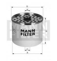 filter paliva mann P 917x
