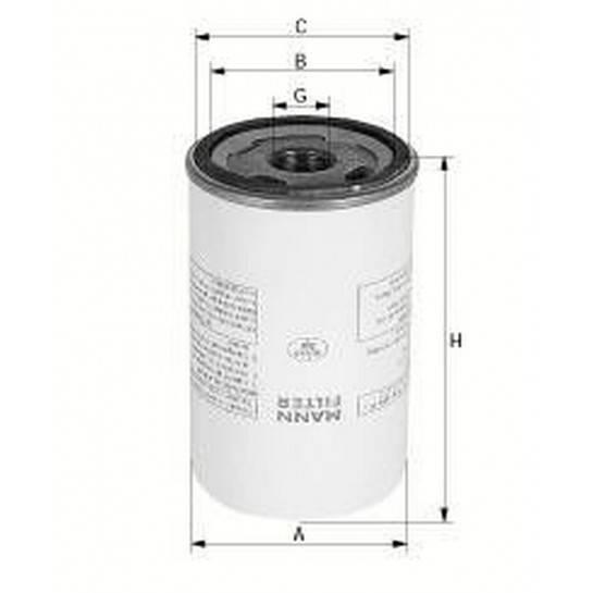 filter olejový mann LB 962/2