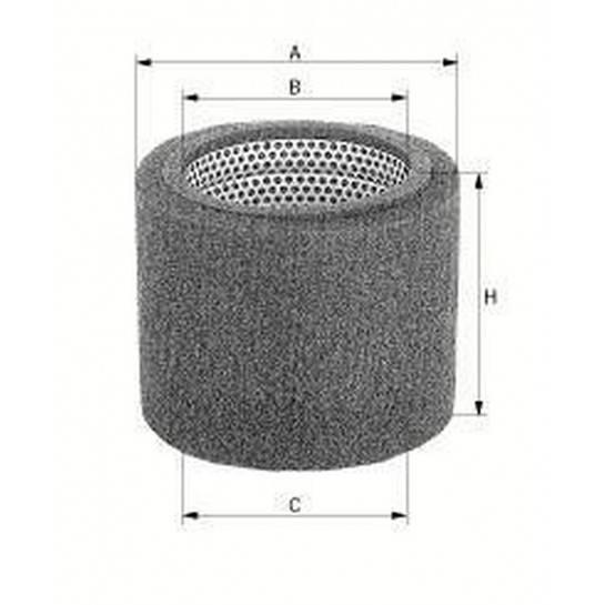 filter vzduchový mann CS 17110