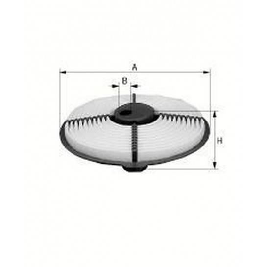 filter vzduchový mann C 2626