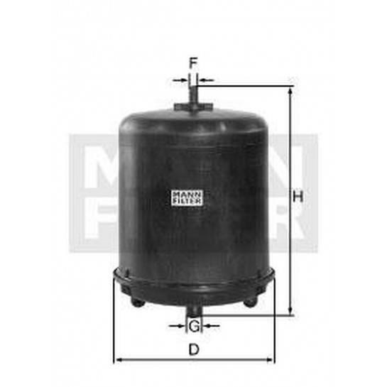 filter odstredivka mann ZR 905z