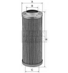 filter hydraulický mann HD 509/5