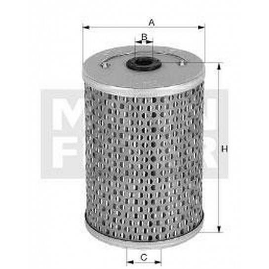 filter olejový mann H 931/4 016