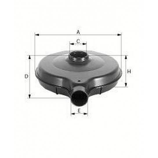 filter vzduchový mann C 2356/5
