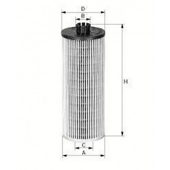 filter olejový mann HU 945/2x
