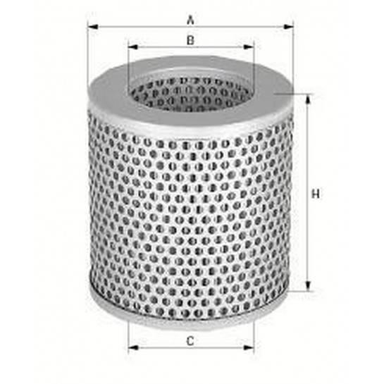filter vzduchový mann C 15124/2