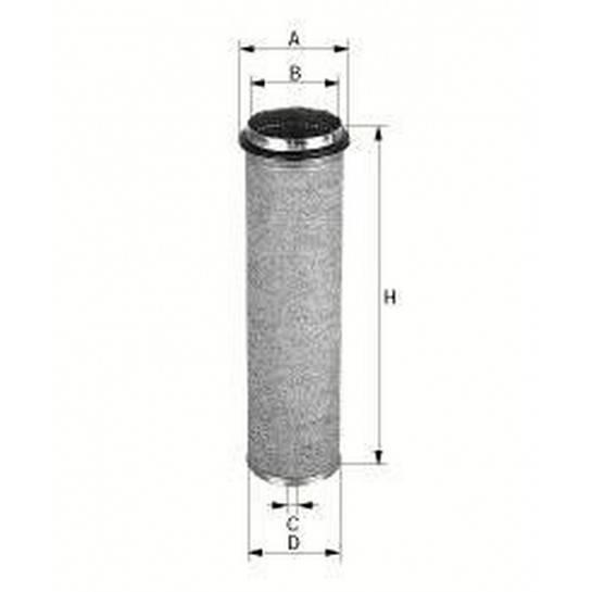 filter vzduchový mann CF 800