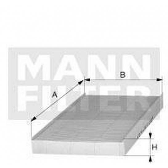 filter peľový mann CU 5141