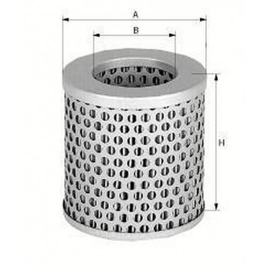 filter vzduchový mann C 75