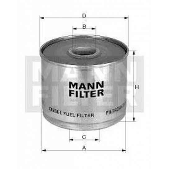 filter paliva mann P 917/1x