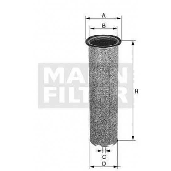 filter vzduchový mann CF 1122
