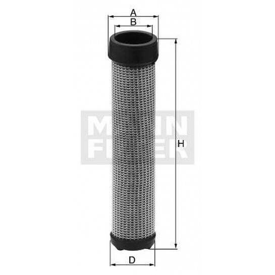 filter vzduchový mann CF 1720