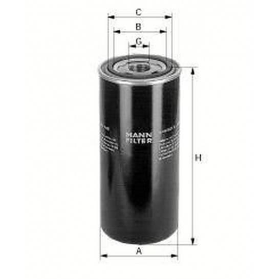 filter olejový mann WD 940/2