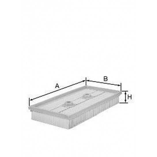 filter vzduchový mann C 3083/1